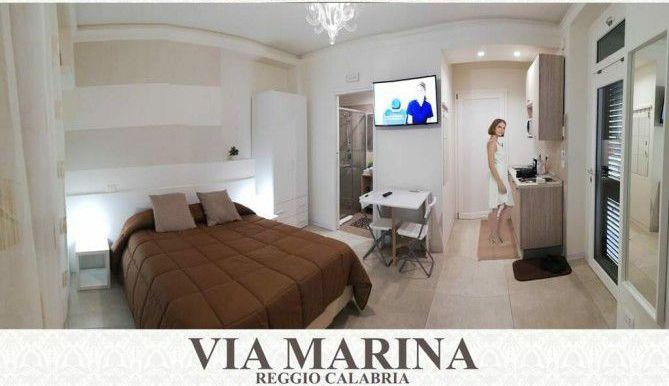 B&B Reggio Calabria Centro - Corso Garibaldi Lungomare Bed Breakfast banner monolocale in Guest House Via Marina